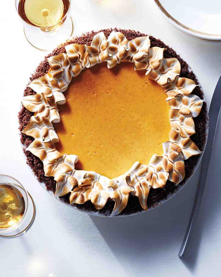 Pumpkin Pie CheeseCake- Martha Stewart