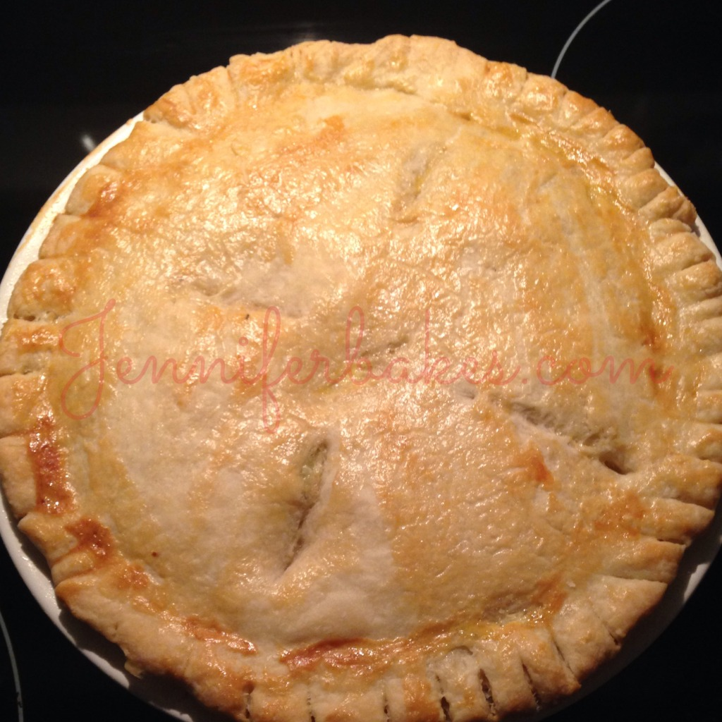 Double Crust Turkey Pot Pie Make it today!