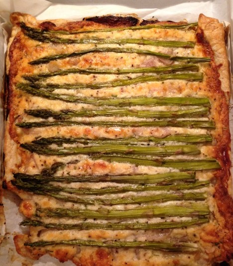 Ricotta Asparagus Tart-Let me count the ways this is amazing!