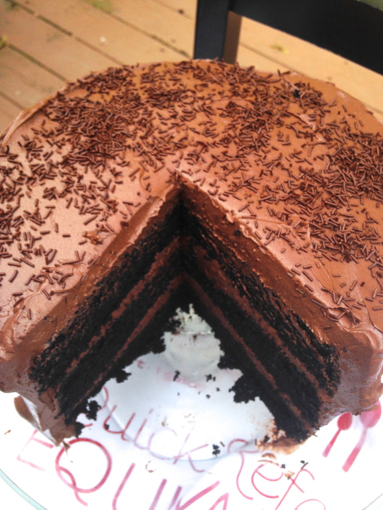 Chocolate cake- the best