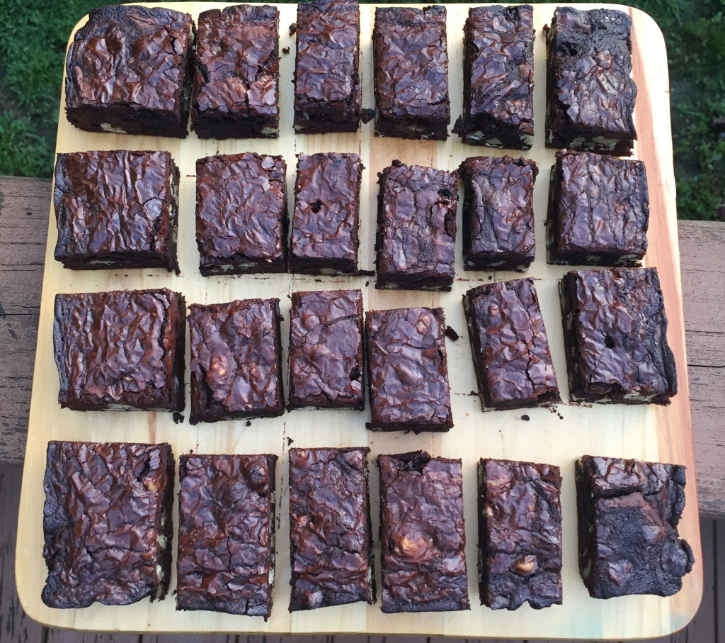 brown butter chocolate brownies
