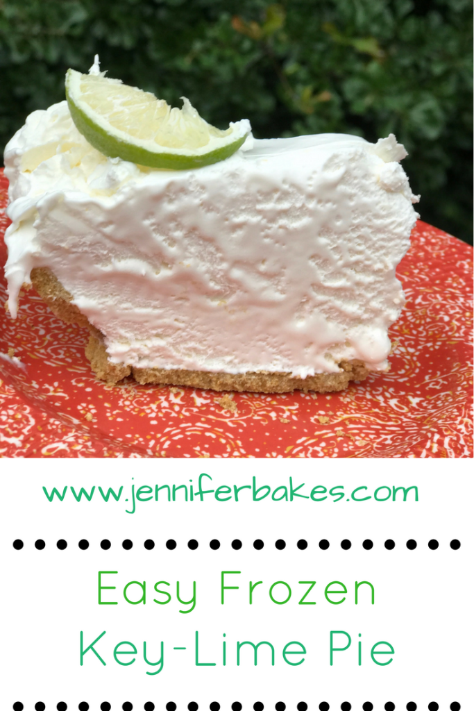 frozen key-lime pie