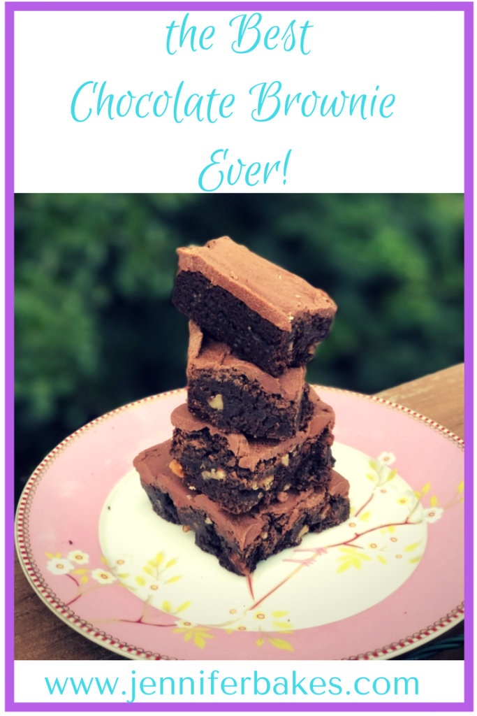 the Best Chocolate Brownie Recipe Ever!