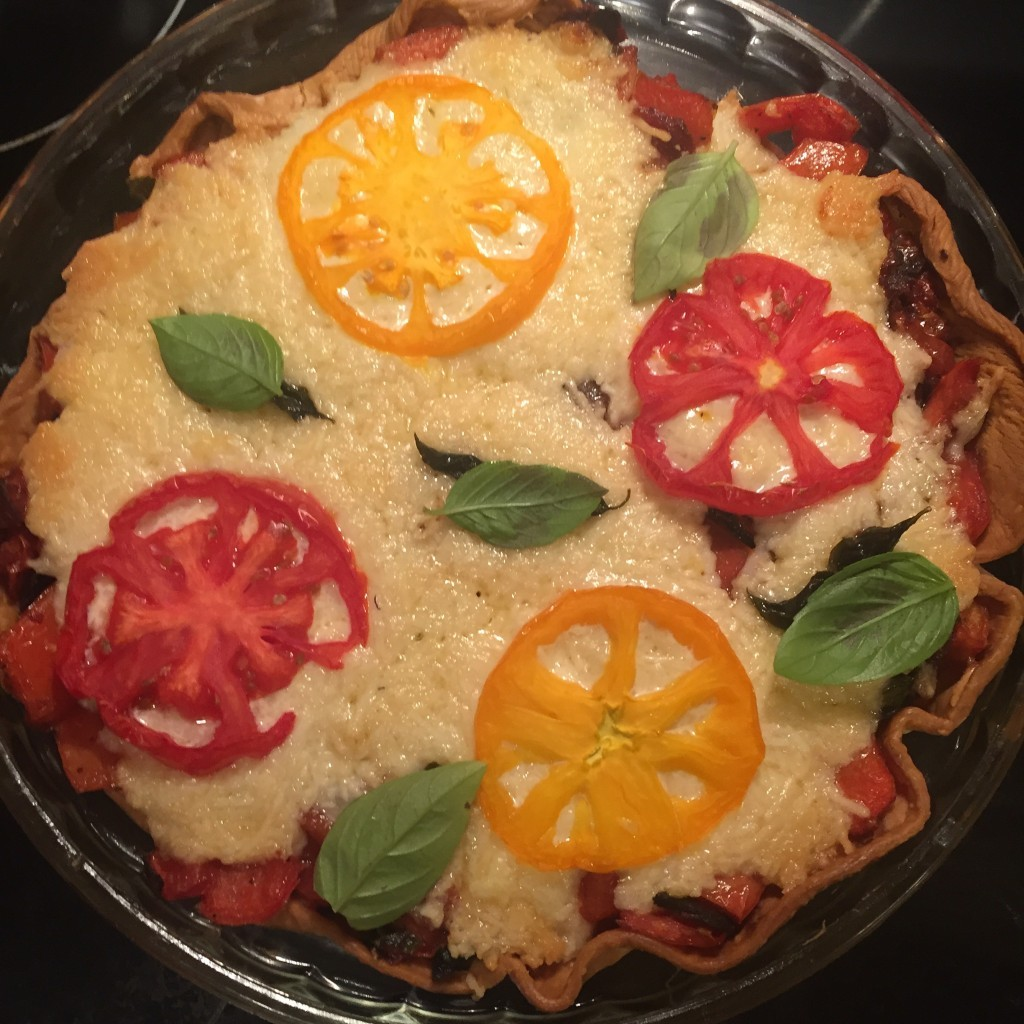 Vivian Howard's Southern Tomato Pie